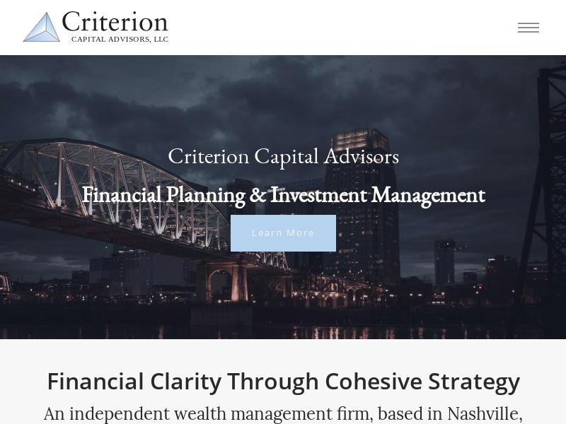 Criterion Capital Advisors