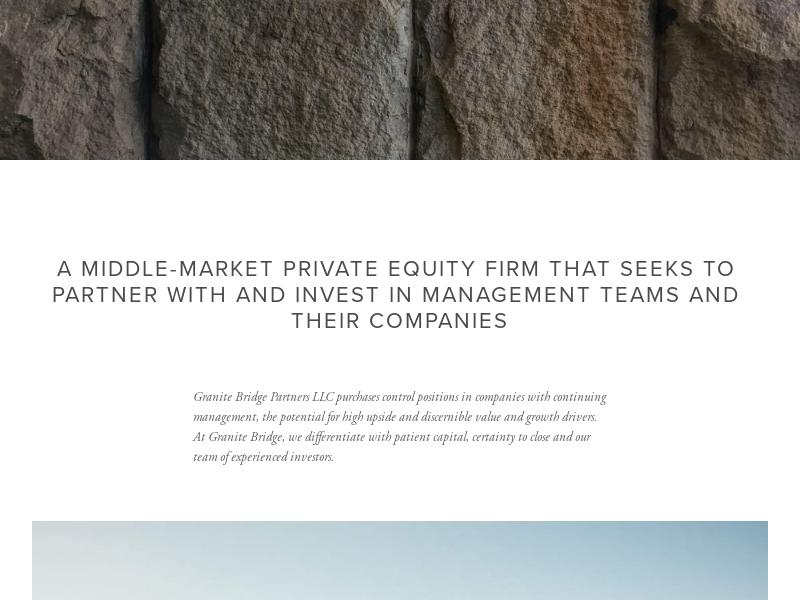 Granite Bridge Partners
