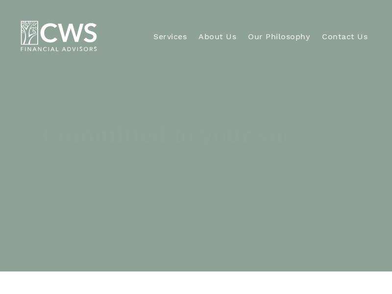 CWS Financial Advisors – Kalamazoo, MI