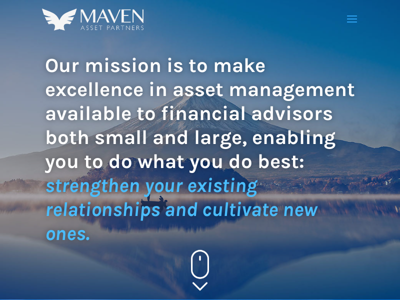 Maven Asset Partners   Excellence in Asset Management for Financial Advisors