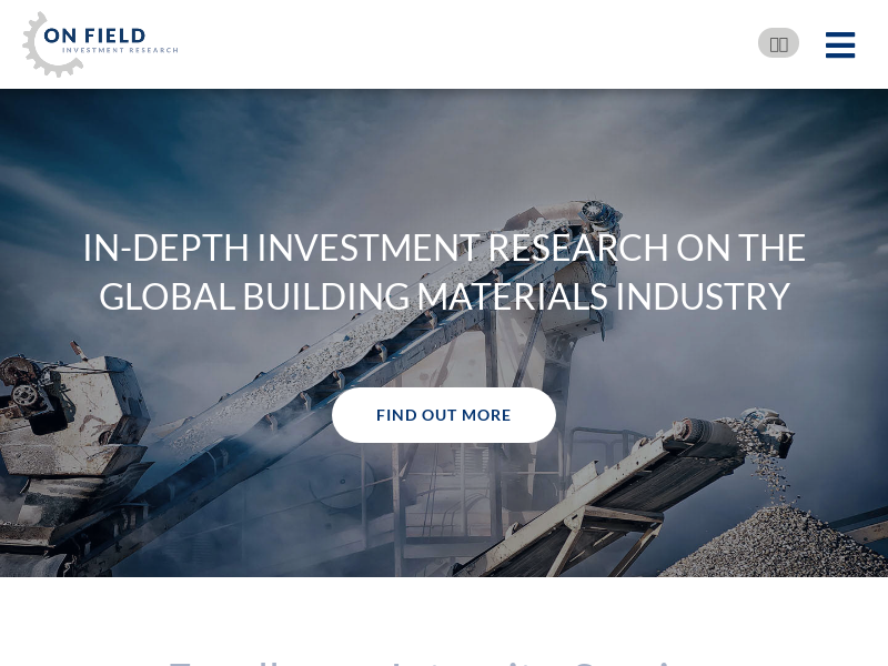 On Field Investment Research