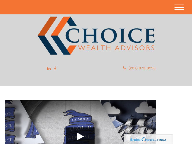 Choice Wealth Advisors - Wealth Management Services - Waterville, ME