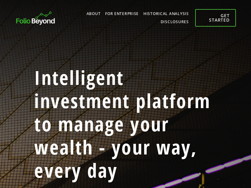FolioBeyond - Investing Wisely