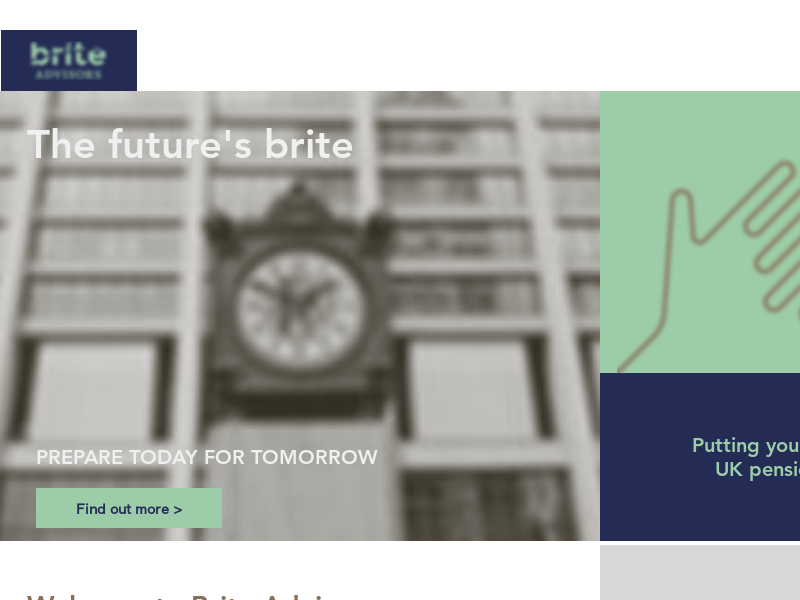 Brite Advisors, UK SIPP, Retirement Financial Planning.