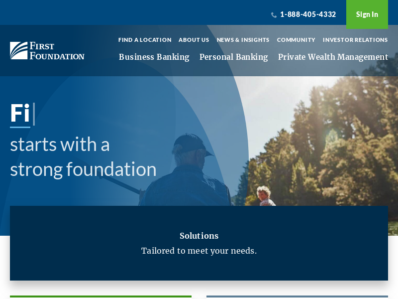 Personal & Commercial Banking | First Foundation Bank