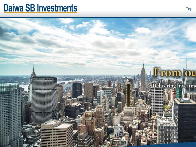 Daiwa SB Investments (USA) Ltd