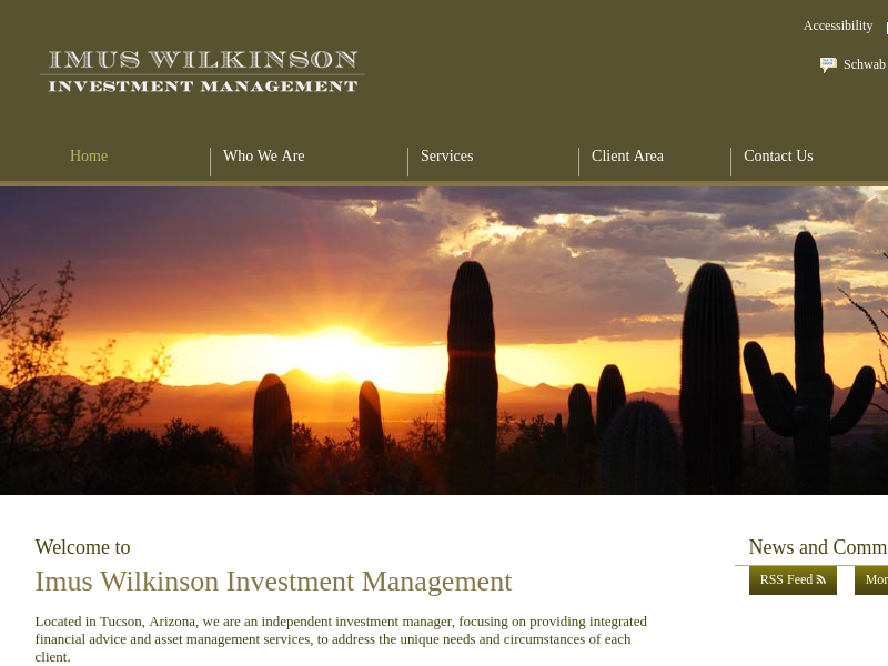 Imus Wilkinson Investment Management - Home