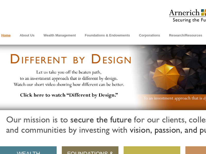 Investment Firm   Arnerich Massena Portland
