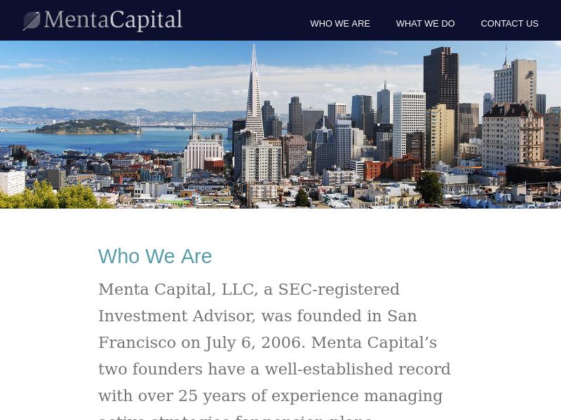 Menta Capital