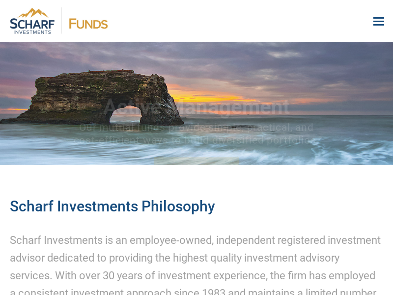 Mutual Funds | Scharf Funds