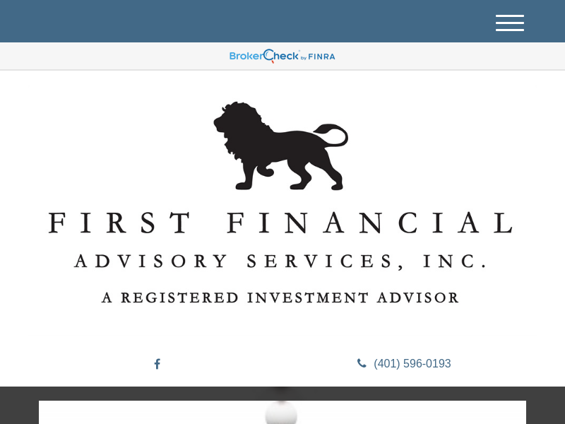 Home | First Financial Advisory Services, Inc.