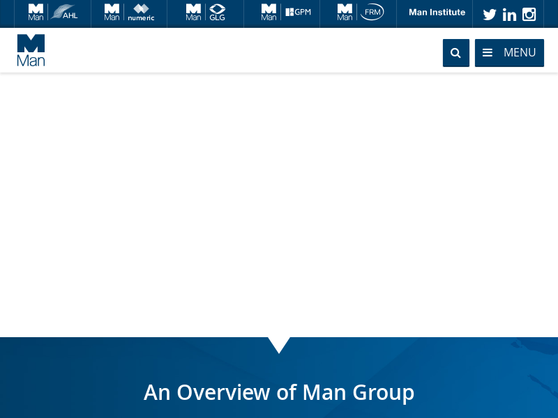 Man Group. Always Evolving.