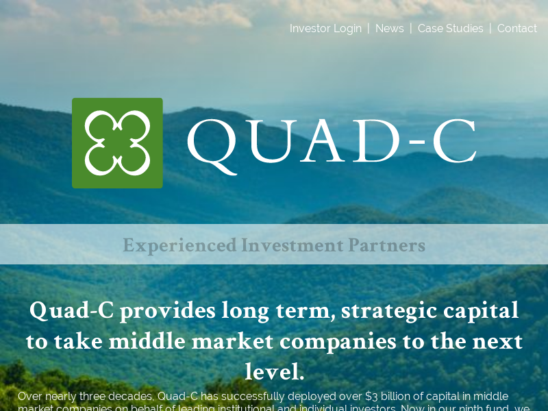 Home - Quad-C Management | Experienced Investment Partners