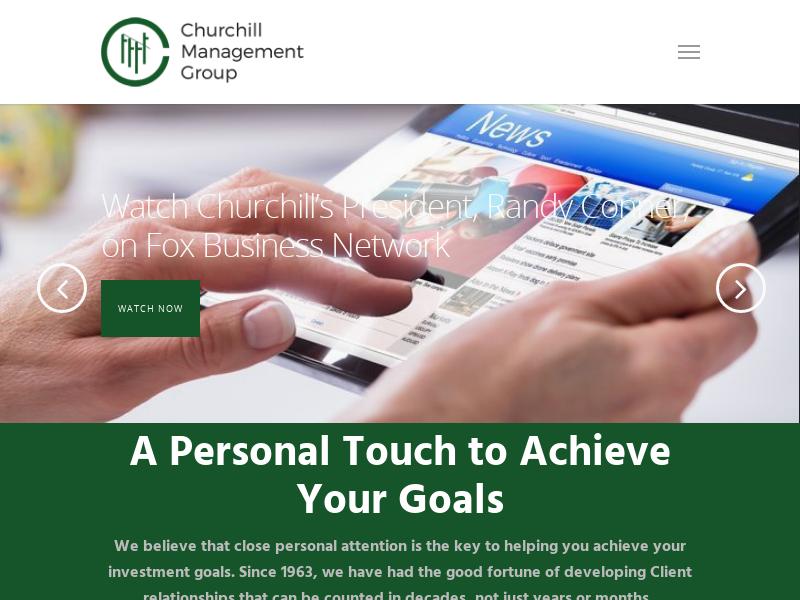 Home - Churchill Management Group