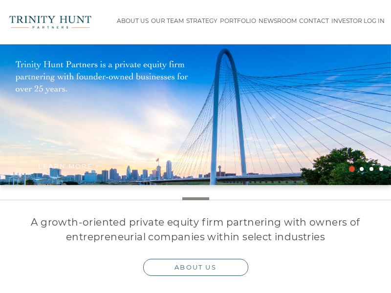 Private Equity Firm in Dallas | Trinity Hunt Partners