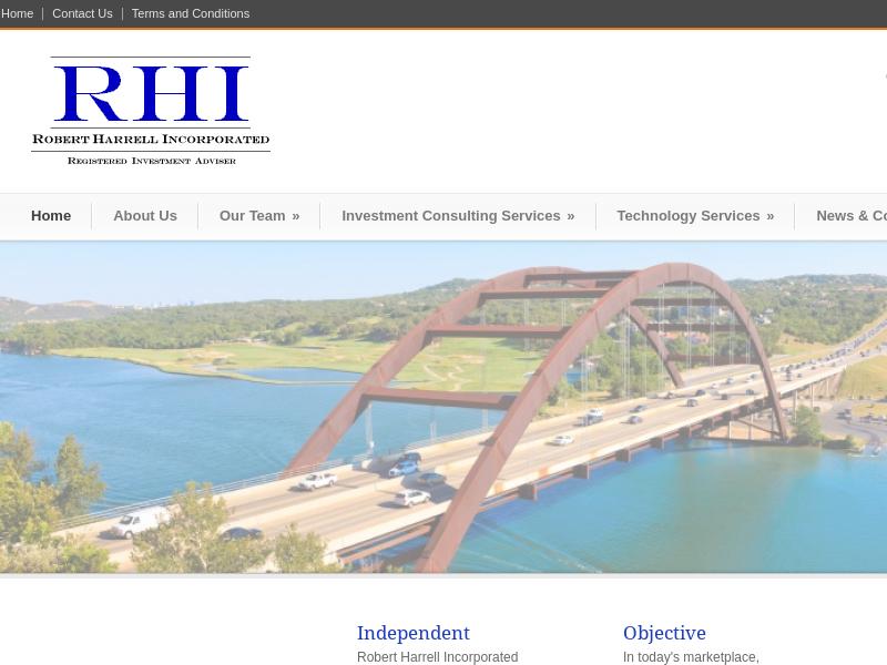 Robert Harrell, Incorporated  Home - Robert Harrell, Incorporated