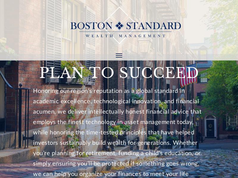 Home - Boston Standard Wealth Management