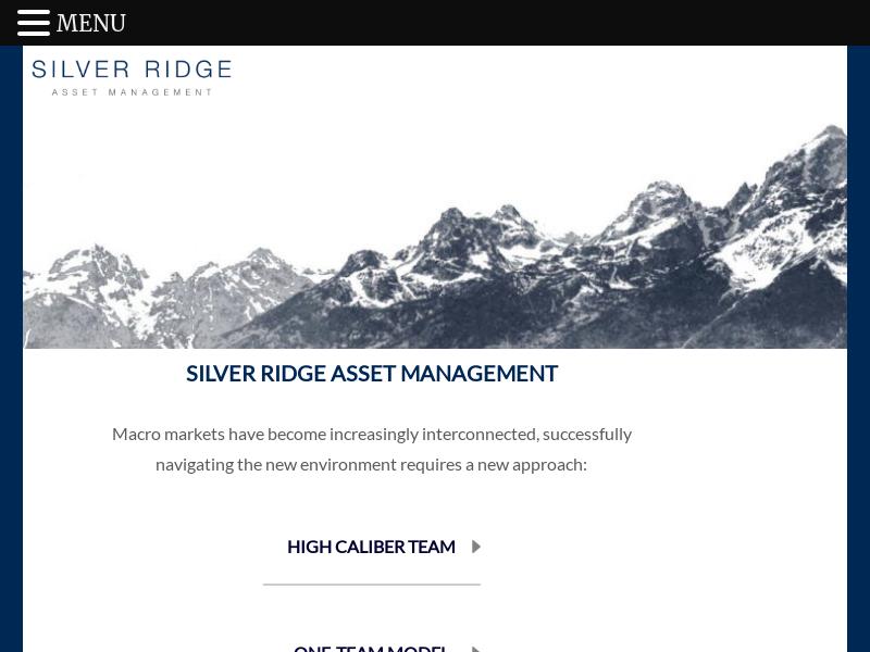 SILVER RIDGE ASSET MANAGEMENT -