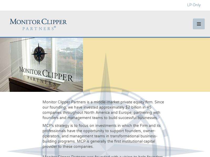Monitor Clipper Partners \|\| Capital Management \|\| Cambridge, MA