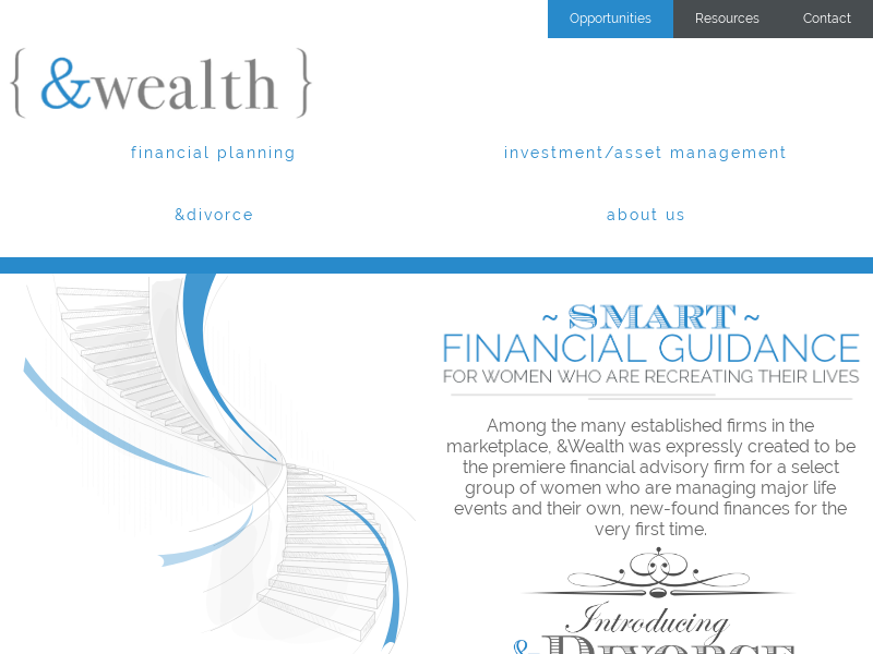 &Wealth Partners LLC Financial Advice for Women Who Are Recreating Their Lives