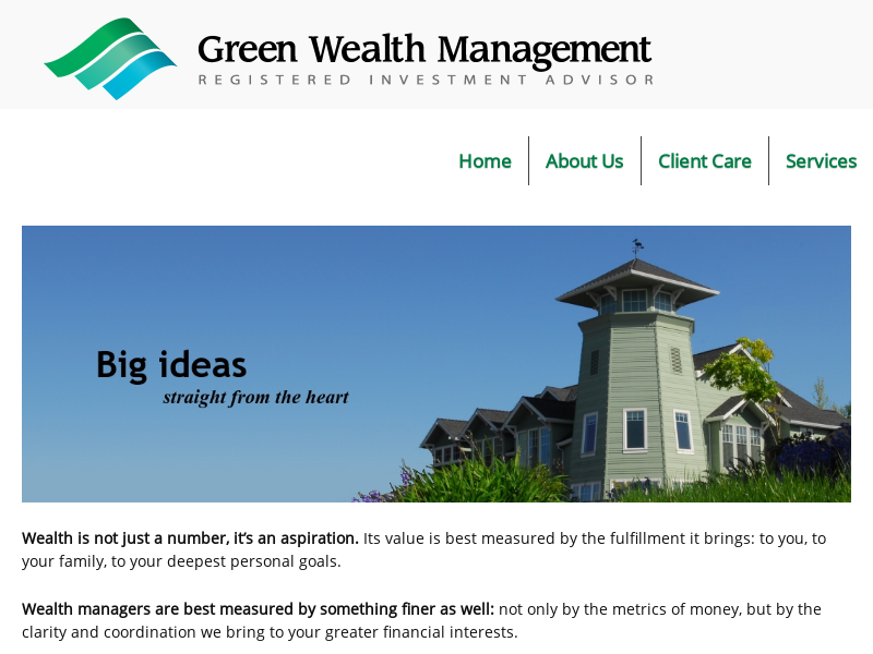 Home - Green Wealth Management, LLC