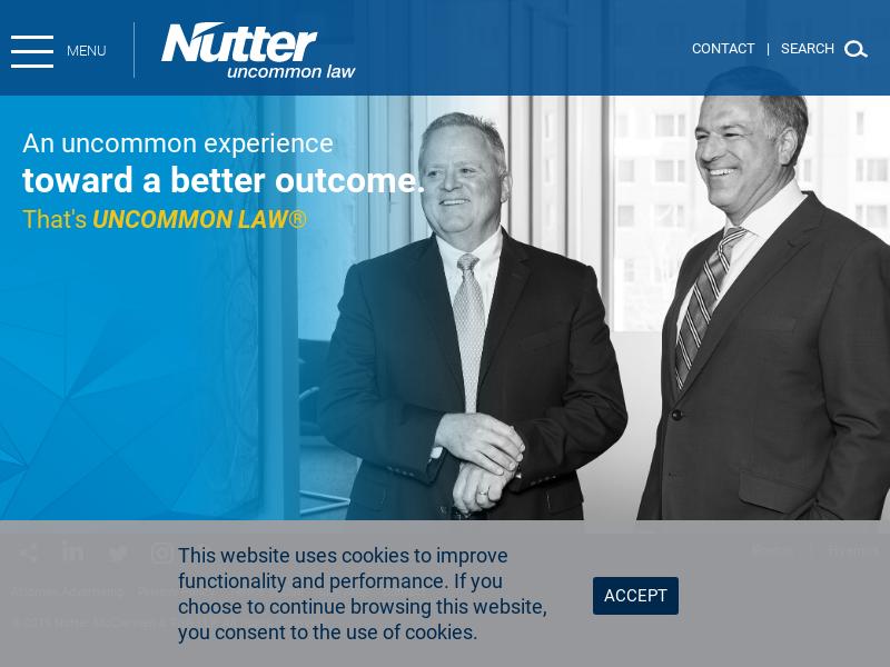 Nutter Investment Advisors: Nutter McClennen & Fish Law Firm