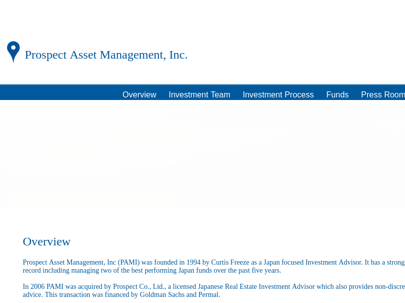 Prospect Asset Management, Inc. :: Overview