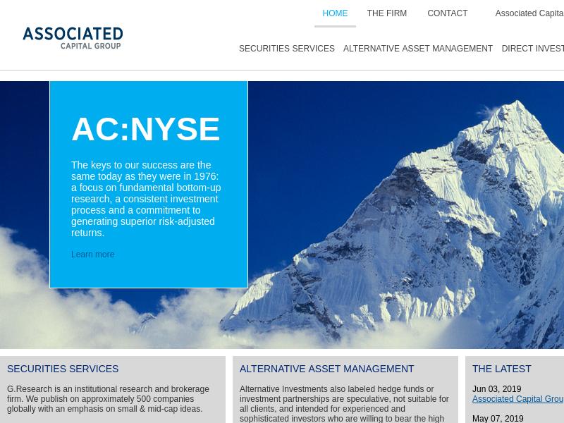Associated Capital Group