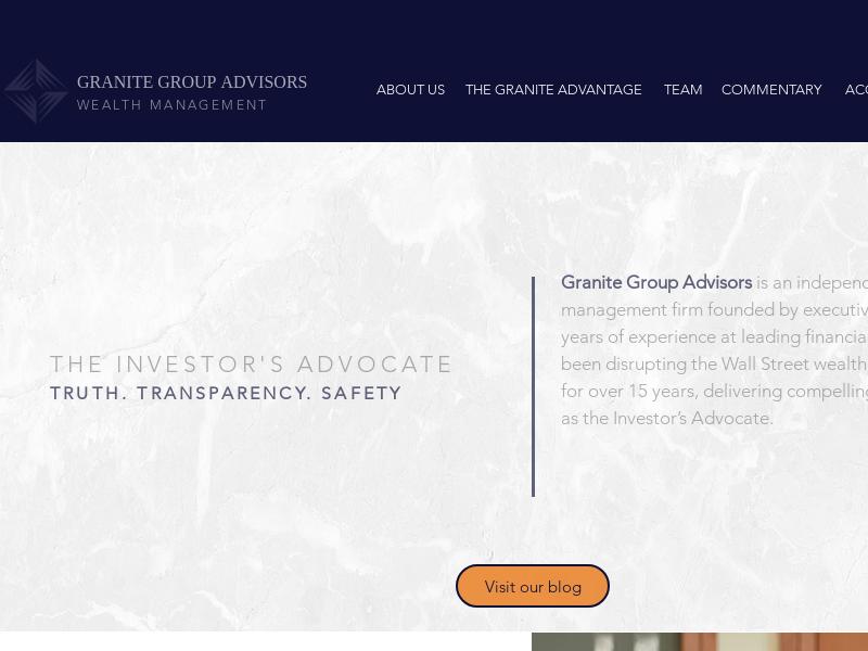 Granite Group Advisors Wealth Management
