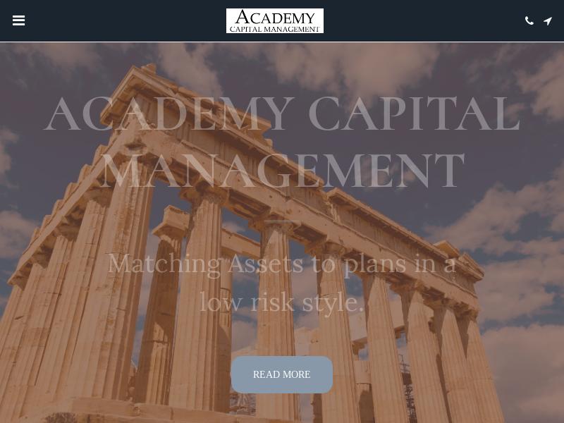 ACADEMY CAPITAL MANAGEMENT