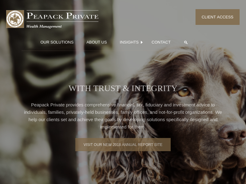Home › Peapack Private Wealth Management