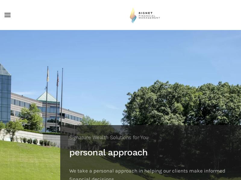 Financial Advisor Parsippany | Signet Financial Management, LLC