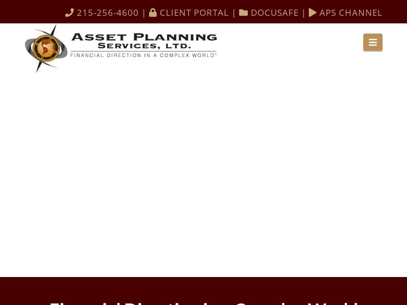 Asset Planning Services - Financial Advisors for Merck Employees