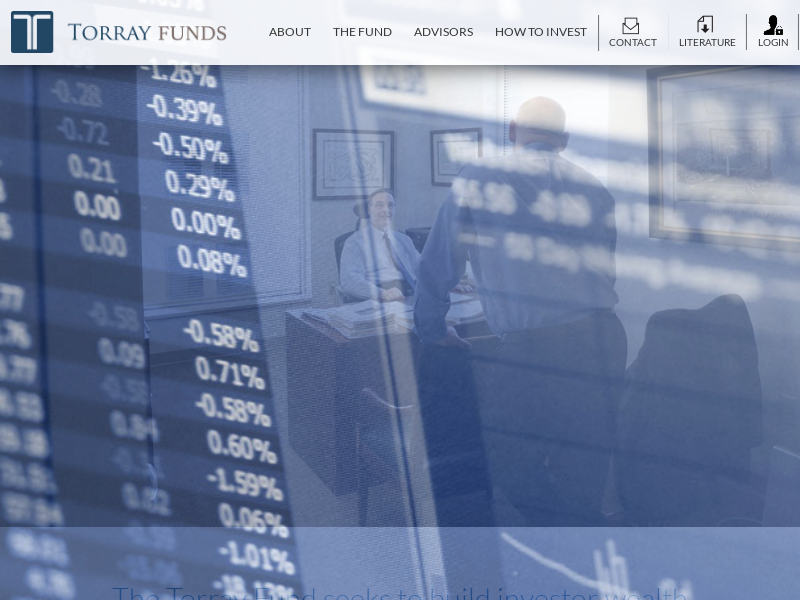 Torray Funds | Investment Management | Advisors | Institutions