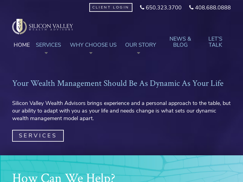 Dynamic Wealth Management | Silicon Valley Wealth Advisors