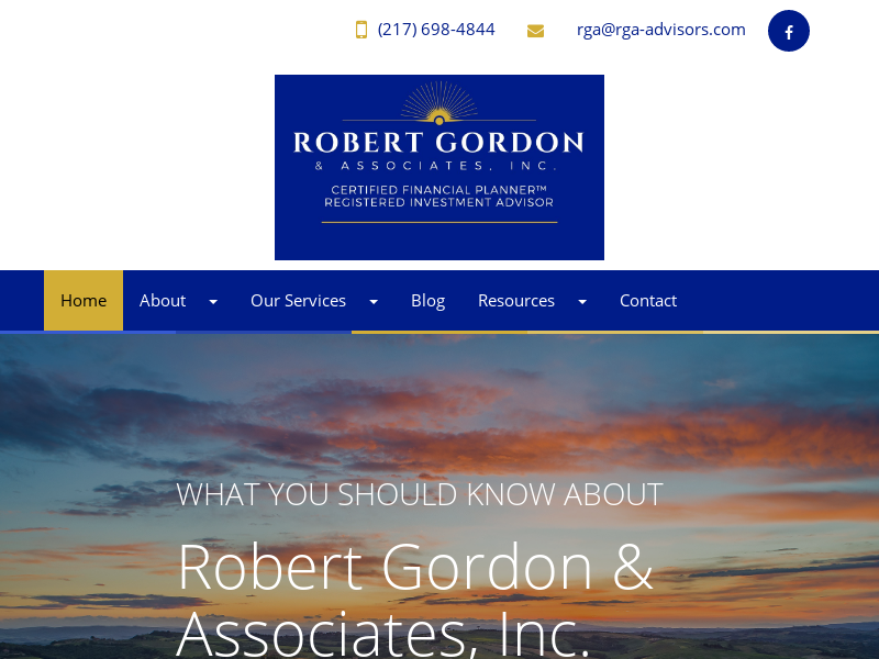 Home   Robert Gordon & Associates, Inc