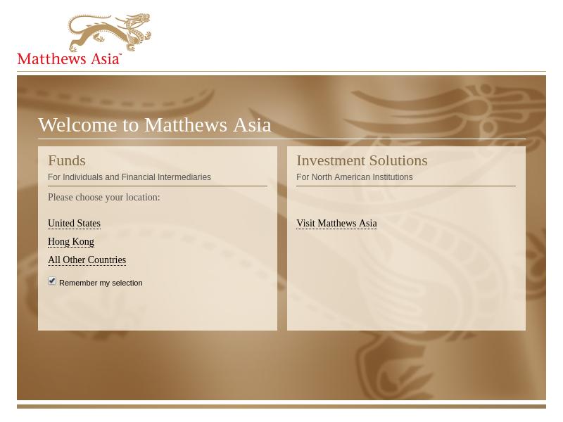 Matthews Asia