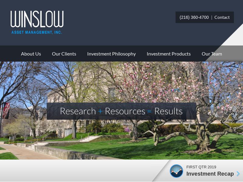Winslow Asset Managment  