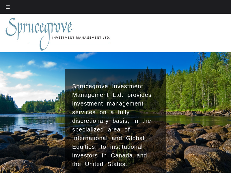 Sprucegrove Investment Management