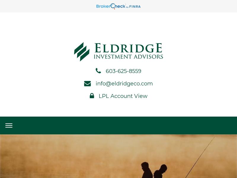 Home | Eldridge Investment Advisors, Inc.