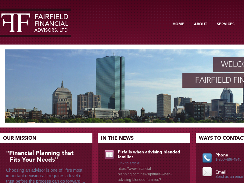 Fairfield Financial Advisors | Financial Planning that Fits Your Needs