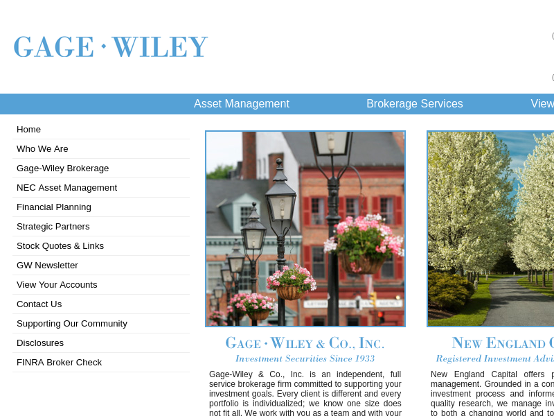 NEC Asset Management | New England Capital