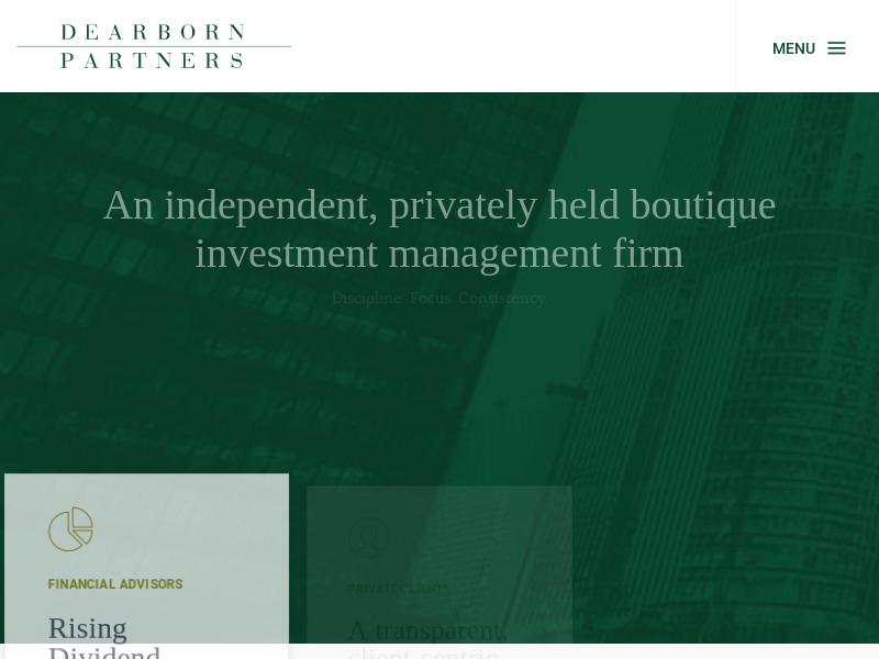 Wealth & Asset Management Firm - Chicago, IL | Dearborn Partners