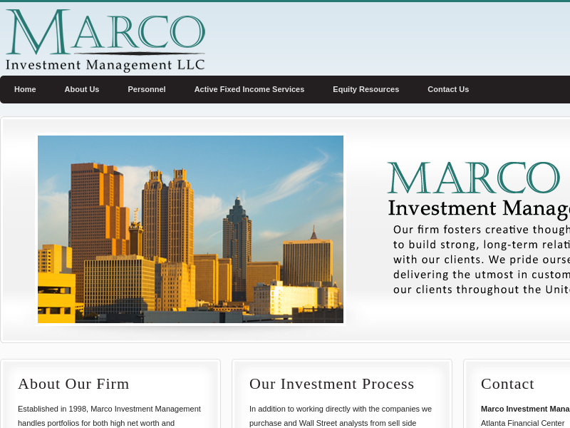 Marco Investment Management