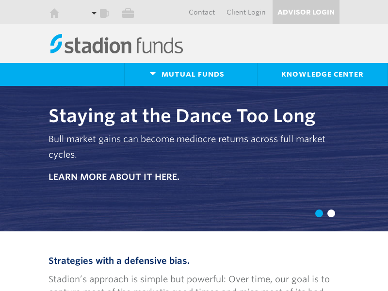 Stadion Funds