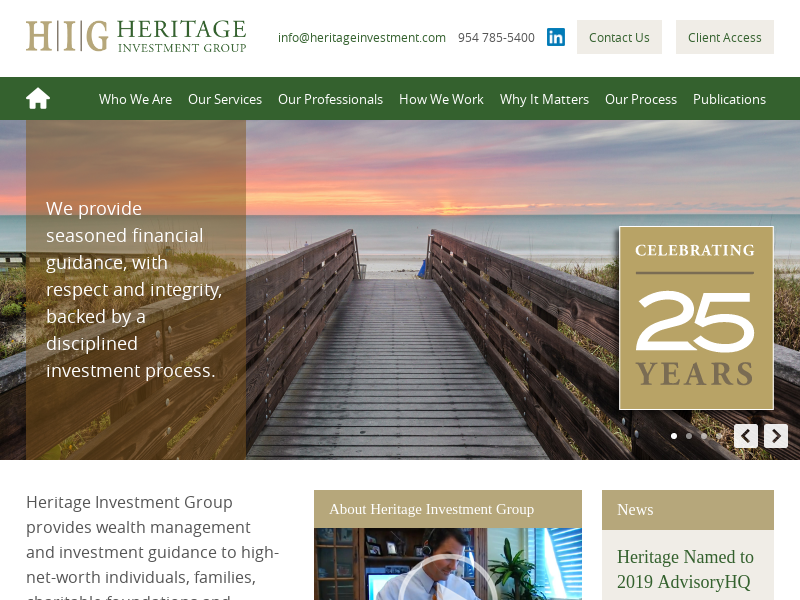Heritage Investment Group | Florida-Based Wealth Management and Investment Guidance