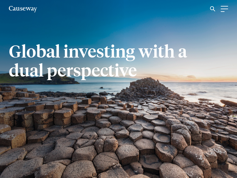 Causeway Capital Management: Home — Global investing with a dual perspective