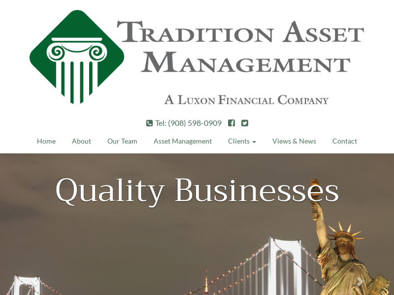 Home | Tradition Asset Management, LLC