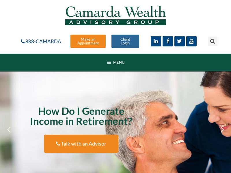 Jacksonville Financial Advisors - Camarda Wealth - Fleming Island, FL