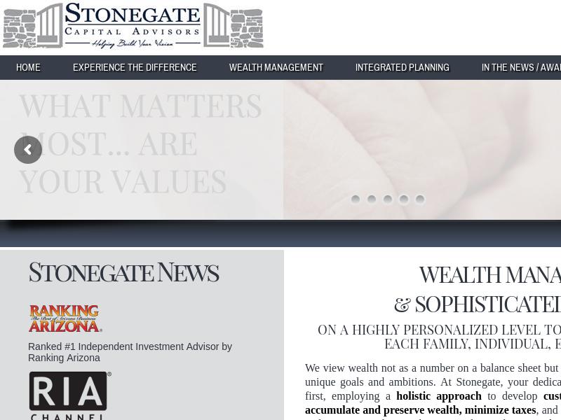 Stonegate Capital Advisors